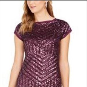 New dress Vince Canutewine purple size 12